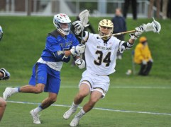 Irish Laxers Set For Sunday Re-Match with UNC