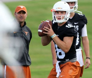 Freshman quarterback Shane Buechele (Stephen Spillman / Houston Chronicle)