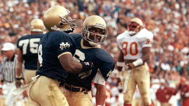 Former Notre Dame wide receiver, Clint Johnson. (Photo: Orlando Sentinel)