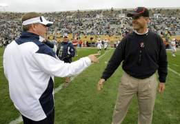 In Kelly-Harbaugh Recruit Fight, It's Tied