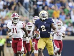 Playing to Your Strength? ND's Run Offense Versus State's Run Defense