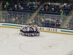 Frozen Four Rematch: #4 Notre Dame vs #1 Denver