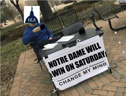 Notre Dame Will Win On Saturday