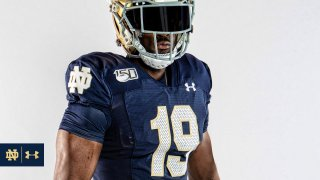 Notre Dame Throwback Jersey