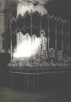 Palio Virgen Angustia 1946