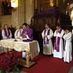 Misa Martes santo estudiantes 2012