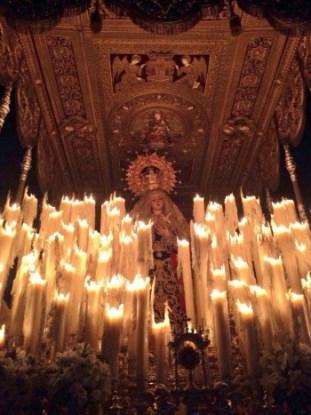 Virgen palio paso