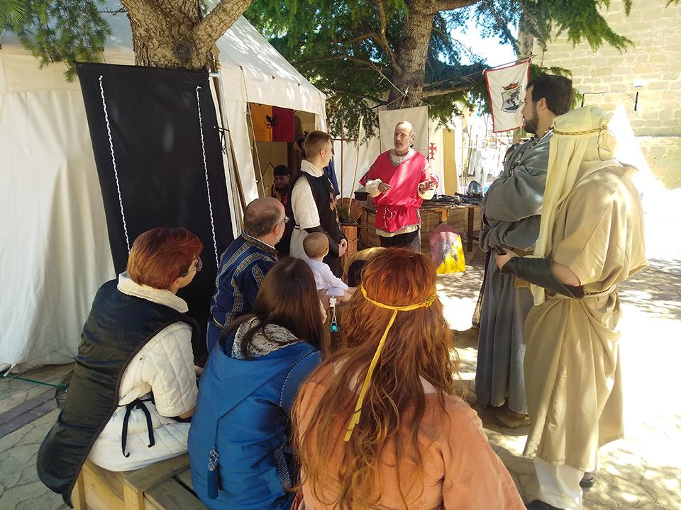 Regresamos al siglo XII de la mano de Caballeros de Exea y «Las horas de nuestra historia»