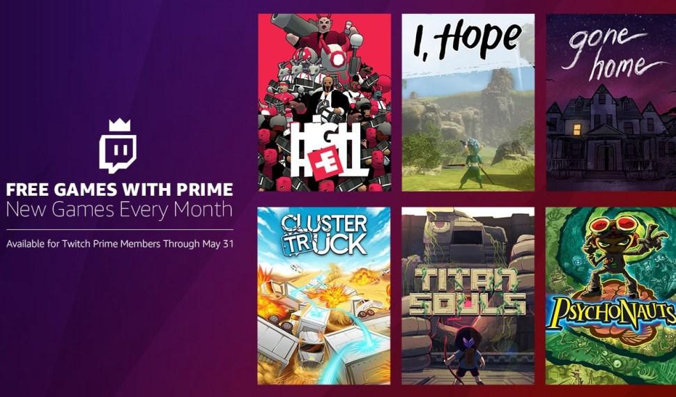Estos son los juegos gratis de Twitch Prime en Mayo