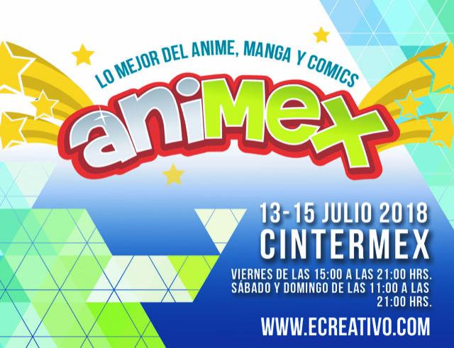LO MEJOR DEL MANGA,ANIME Y COMICS… ANIMEX 2018.