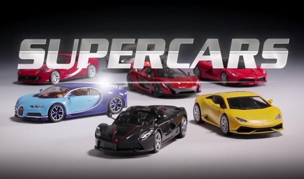 Conoce la serie de colección de autos exóticos SUPERCARS de Editorial Salvat