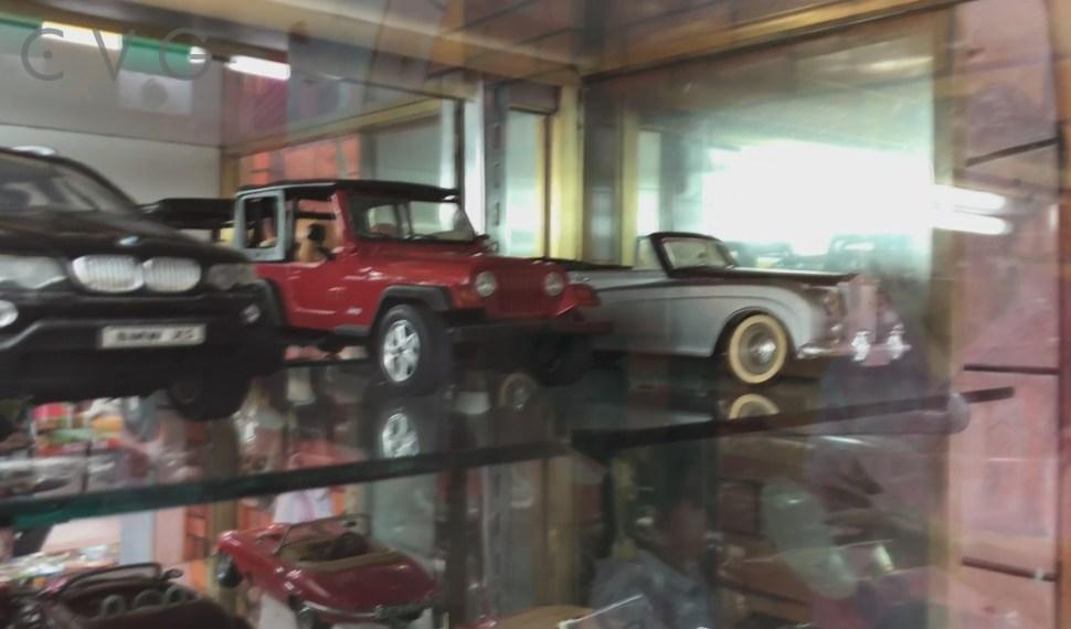 Conoce La Colección de Autos a Escala de la Taquería La Mexicana