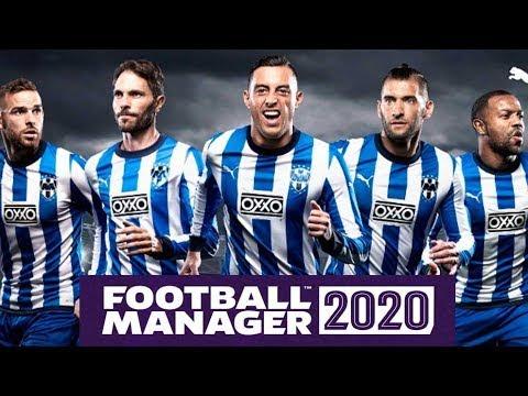 Football Manager 2020 con Rayados del Monterrey