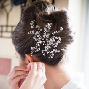 wedding bun hairstyles wedding hair accessories