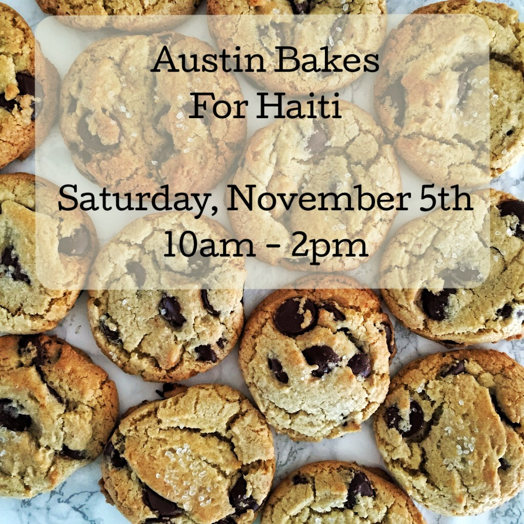 Austin Bakes for Haiti Cookies