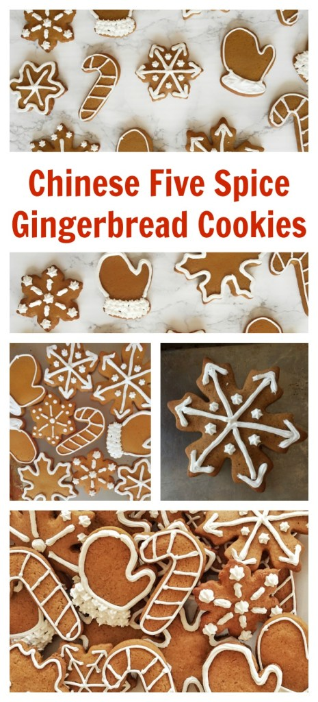 Chinese Five Spice Gingerbread Cookies
