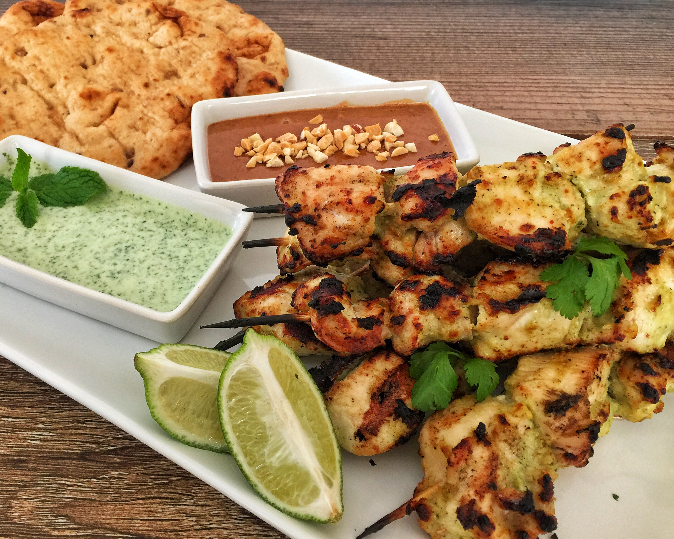 Murgh Malai Tikka Plate Close-Up