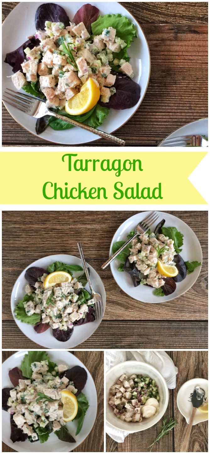 Tarragon Chicken Salad Pin