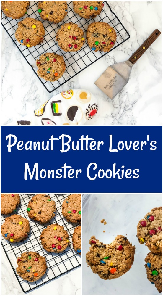 Peanut Butter Monster Cookie Pin