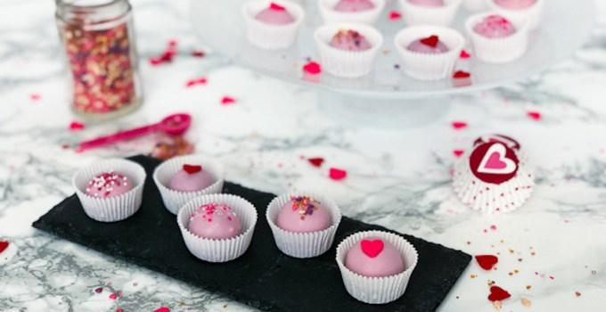 Valentine's Day Chocolate Ganache Truffles