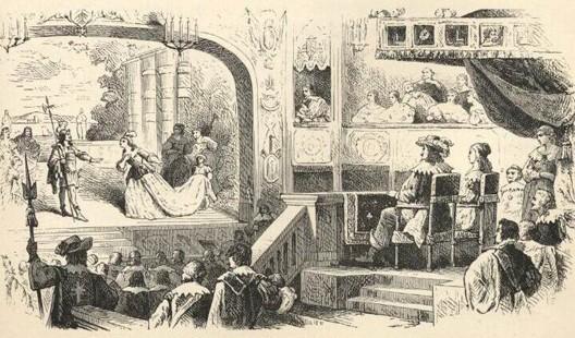 Représentation du Cid à la Comédie française