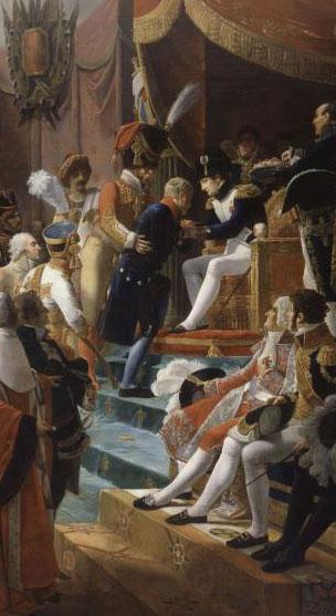 Première distribution de la Légion d'Honneur aux Invalides le 14 juillet 1804 (Jean-Baptiste Debret, châteaux de Versailles et Trianon)