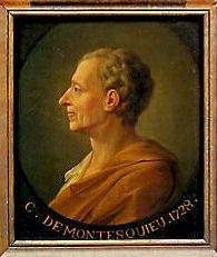 Charles-Louis Secondat, baron de Montesquieu (18 janvier 1689, La Brède - 10 février 1755, Paris)