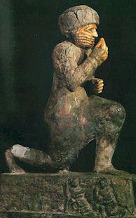 Adorant du dieu Amourrou (Larsa, Sumer, 1770 avant JC), Louvre
