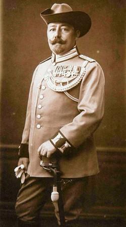 Le capitaine Ernst von Raben.