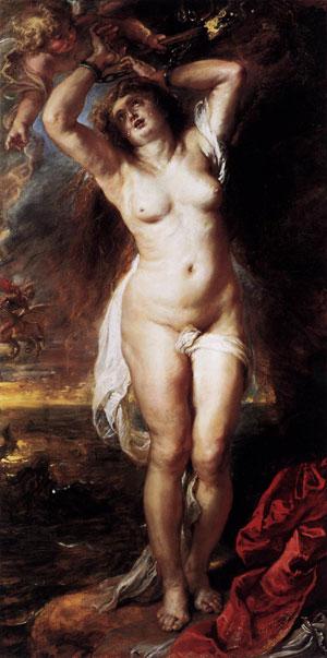 Andromeda (Pierre-Paul Rubens, Gemaldegalerie, Berlin)