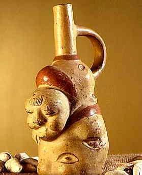 Axomama, déesse de la pomme de terre, culture Moche, Pérou