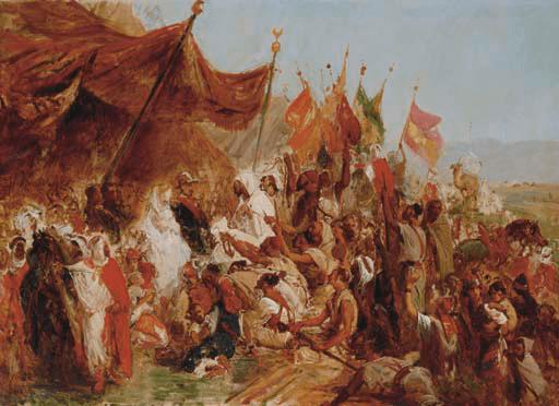 Fêtes données à l'Empereur et à l'Impératrice à Alger le 20 septembre 1860 (Isidore Pils, 1813-1875)