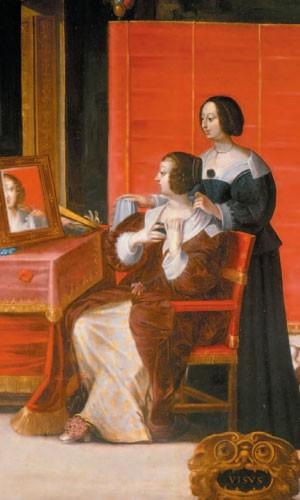 Femme Sa Toilette Daprs Abraham Bosse Aprs 1635