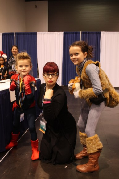 Stella, Kelly Sue DeConnick and Anya