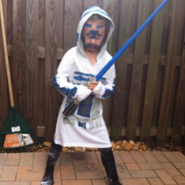 My Heroic Girl says R2D2 is a warrior too.