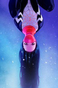 """Silk"" #1 -- Stacey Lee variant cover"