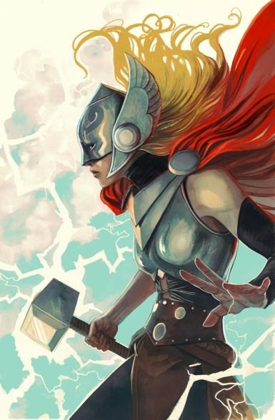 """""""Thor"""" #7 - Stephanie Hans Women of Marvel Variant"""