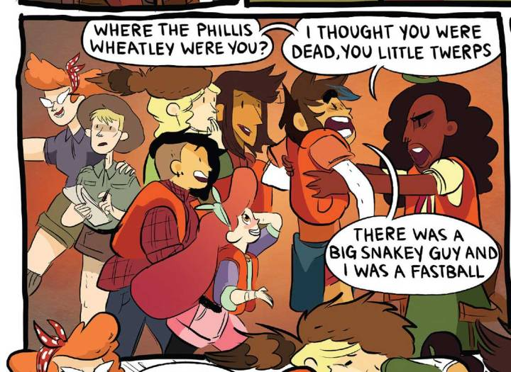Lumberjanes - Phillis Wheatley