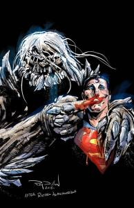 Superman and Doomsday by Ray Dillon