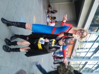 Spider-Woman and Batgirl