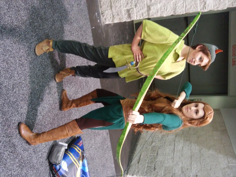 Peter Pan and Elven Merida