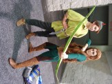 Peter Pan and Elven Merida