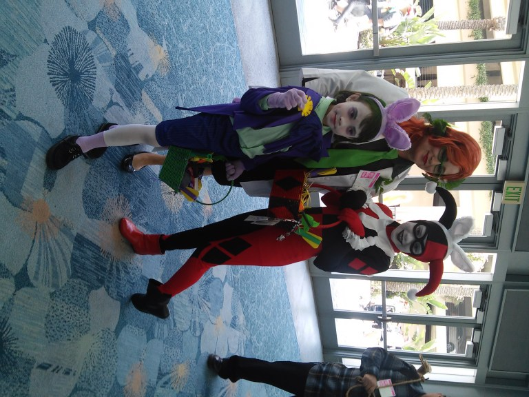 Joker, Poison Ivy and Harley Quinn