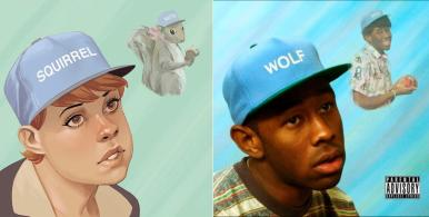 """The Unbeatable Squirrel Girl #1 / Tyler the Creator's """"Wolf"""" - art by Phil Noto"""