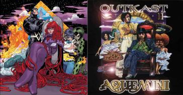 """Uncanny Inhumans #1 / Outkast's """"aquemini"""" - art by Damion Scott"""