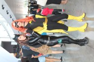 Catwoman and Batgirl