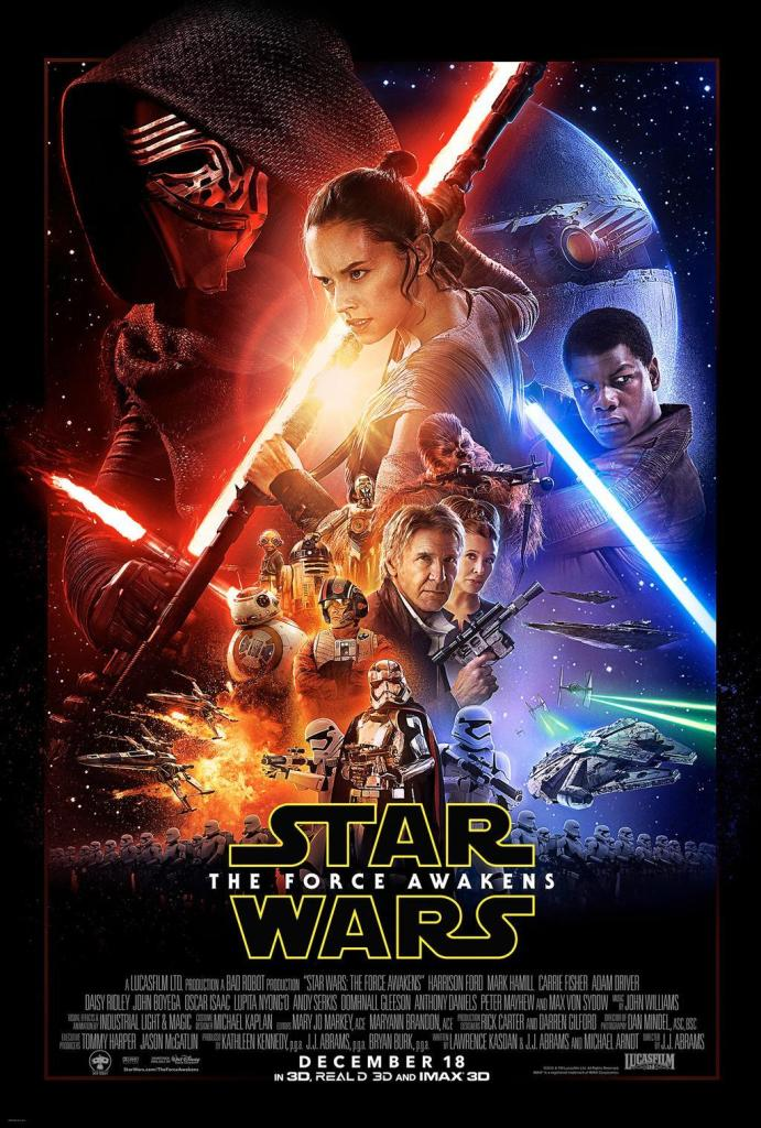 Star Wars: The Force Awakens - Official Poster