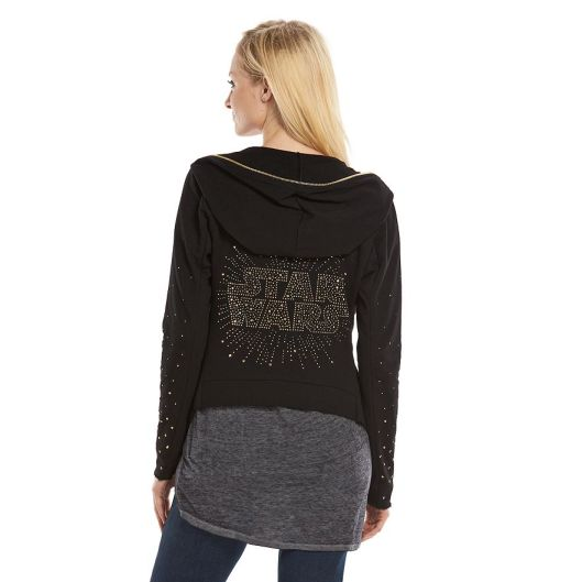 Rock & Republic Star Wars Embellished Hoodie - Kohl's