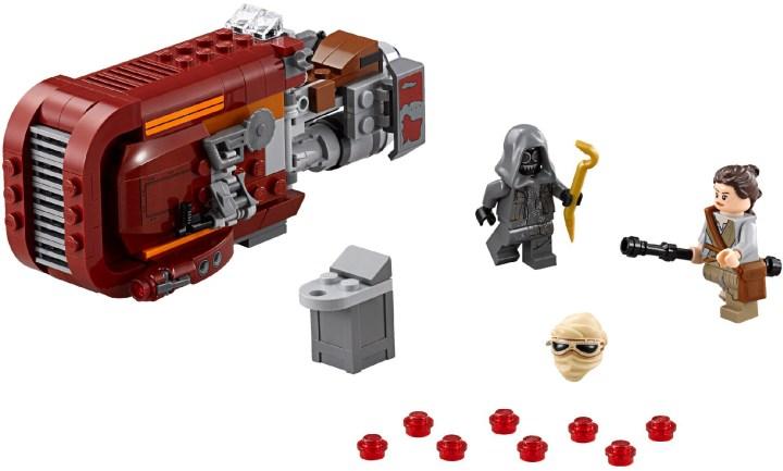 Rey's Speeder Bike - LEGO
