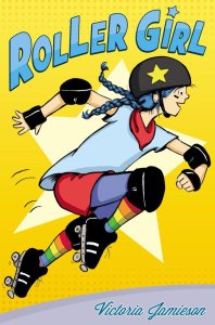 Roller Girl - cover by Victoria Jamieson'